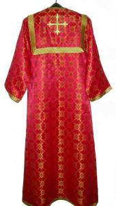 Altar boy robe red