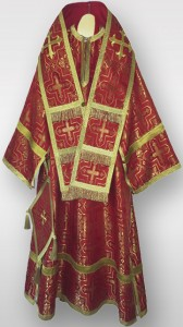 Bishops Vestments Red A