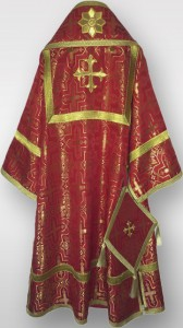 Bishops Vestments Red