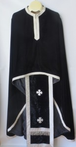 Black Priest Vestments Front
