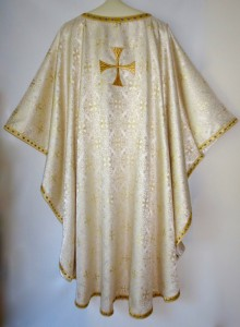 Chasuble WhiteGold