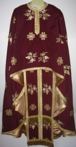 Chrimson Priest Vestment