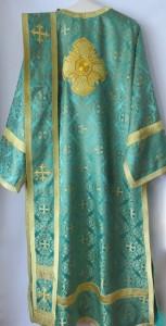 Green Deacon Vestments