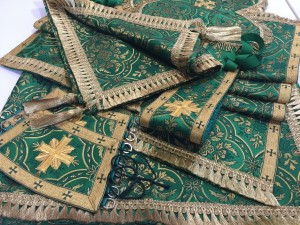 Green Gold Altar Cloth