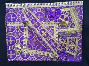 Purple Altar Covers