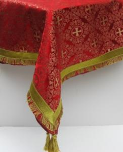 Red Altar Cloth