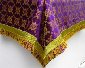 Purple altar cloth839