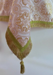White altar vestments