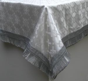 white altar cloth 791